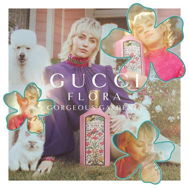 Miley Cyrus là gương mặt đại diện mới của Gucci Beauty - 1