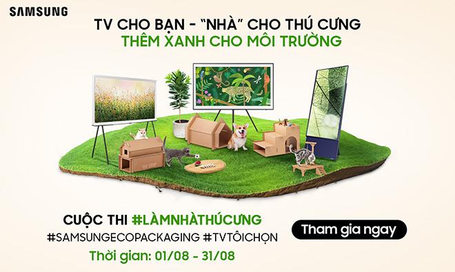 Samsung lan tỏa sống xanh với cuộc thi 'Làm nhà thú cưng' từ bao bì sinh thái - 1