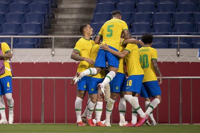 Tỷ lệ đoạt huy chương vàng bóng đá Olympic: Brazil số 1, Nhật Bản mơ kỳ tích - 1