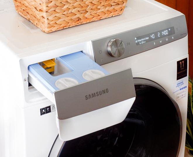 Đánh giá nhanh Samsung AI: Giặt thông minh, tiết kiệm điện - 1