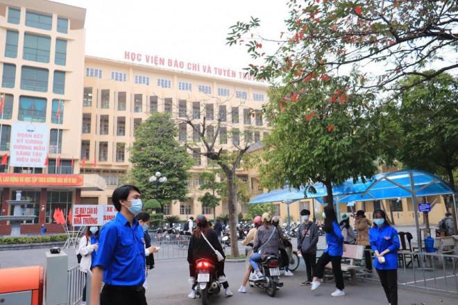 Nóng: Học viện Báo chí và Tuyên truyền điều chỉnh đề án tuyển sinh