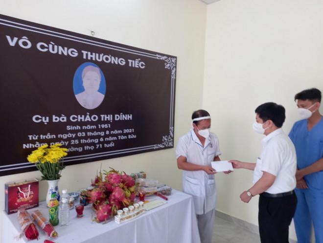 Xúc động lá thư của Thứ trưởng Bộ Y tế gửi điều dưỡng chống dịch không thể về chịu tang mẹ - 1