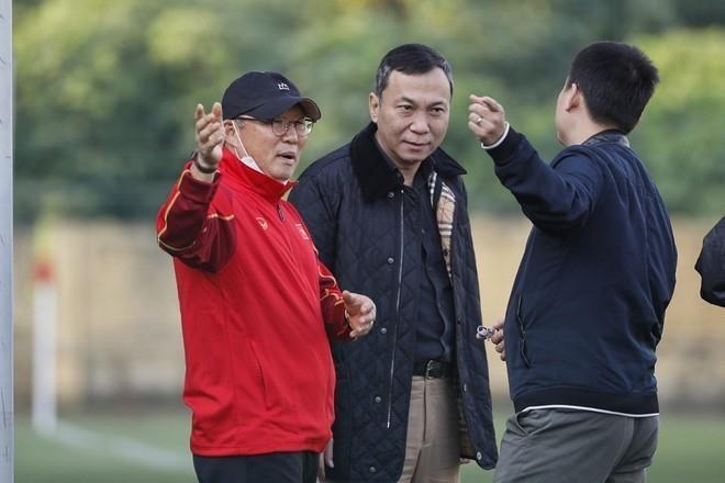 Ông Park Hang-seo nhận tin cực vui trước ngày đấu Saudi Arabia ở Vòng loại World Cup 2022 - 1