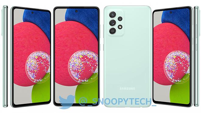 Những hình ảnh nóng nhất của Galaxy A52s 5G - 1