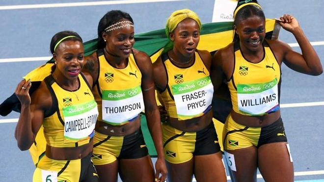 """Lịch thi đấu Olympic 6/8: 8 chung kết điền kinh, 4 """"cơn lốc"""" Jamaica chạy 4x100m - 1"""