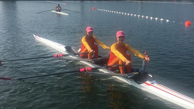 Những điều khó quên tại kỳ Olympic lịch sử của Rowing Việt Nam