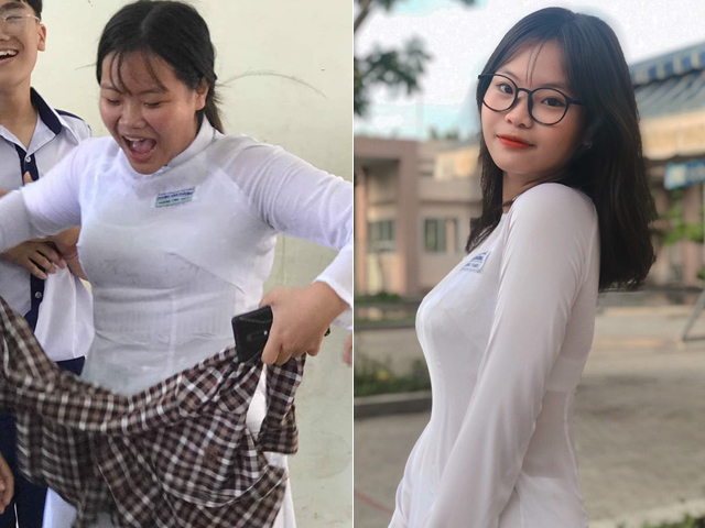 """Giảm hơn 30kg để """"cua"""" anh bạn lớp trên, nữ sinh Sài thành nhận cái kết bất ngờ - 1"""