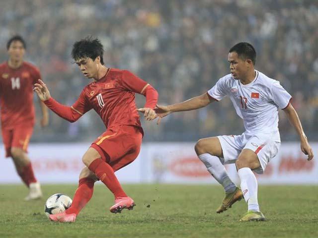 Thiếu đối thủ quốc tế, ông Park cho đội tuyển Việt Nam đấu đàn em U22 - 1