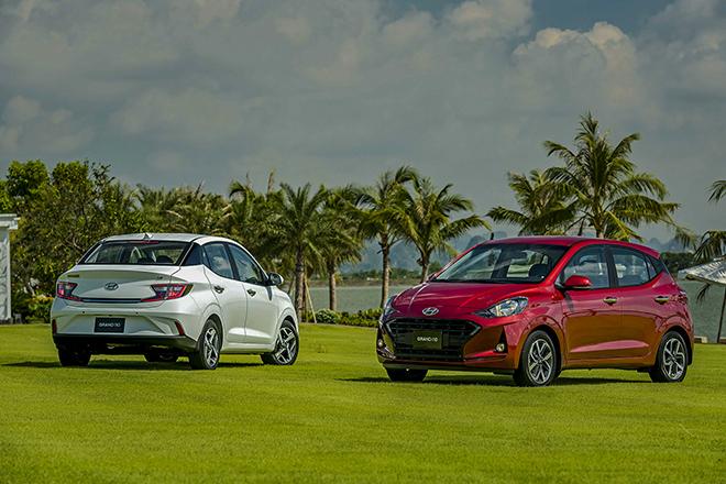 Giá lăn bánh Hyundai Grand i10 mới ra mắt - 1
