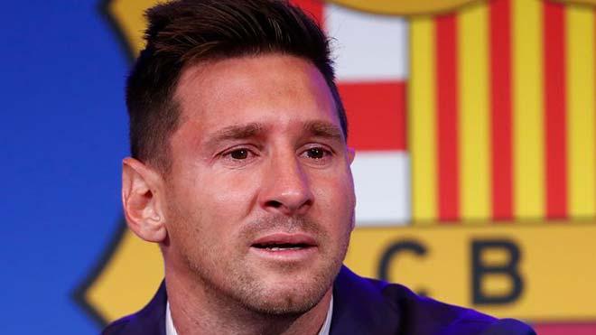 Messi khóc nức nở nói lời chia tay Barca, thừa nhận có thể đến PSG - 1