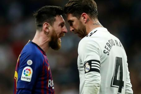 """Messi - Ramos từng đấu nhau """"tóe lửa"""": Từ thù hóa bạn, liệu có sóng ngầm ở PSG?"""