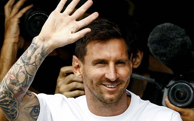 """Trực tiếp họp báo Messi ra mắt """"nhà giàu"""" PSG: Vừa đến, Messi đã khiến Ligue 1 phải phá luật - 3"""