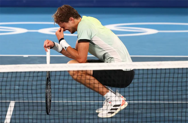 Zverev mơ đỉnh cao tennis: Từ HCV Olympic đến hy vọng Grand Slam - 1
