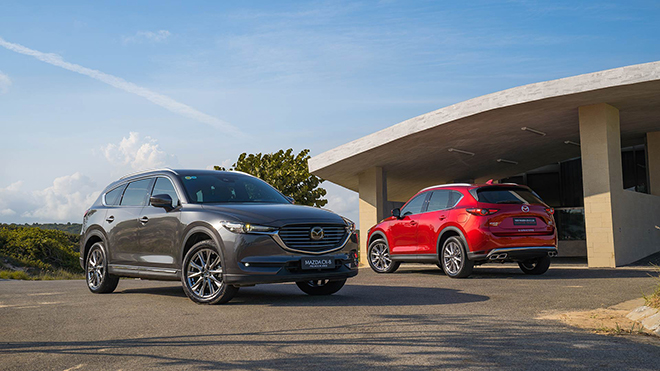 Giá xe Mazda CX-8 lăn bánh tháng 8/2021, ưu đãi 120 triệu đồng - 1