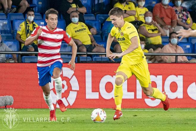 Video Villarreal - Granada: Đồng hương Messi bị thẻ đỏ, hú vía phút 90 (Vòng 1 La Liga) - 1