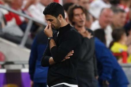 Tin mới nhất bóng đá tối 20/8: HLV Arteta thừa nhận Arsenal bị ép ra sân vòng 1