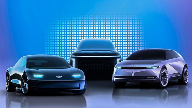 Hyundai tiếp tục tung ra các mẫu xe điện gầm cao mới - 1