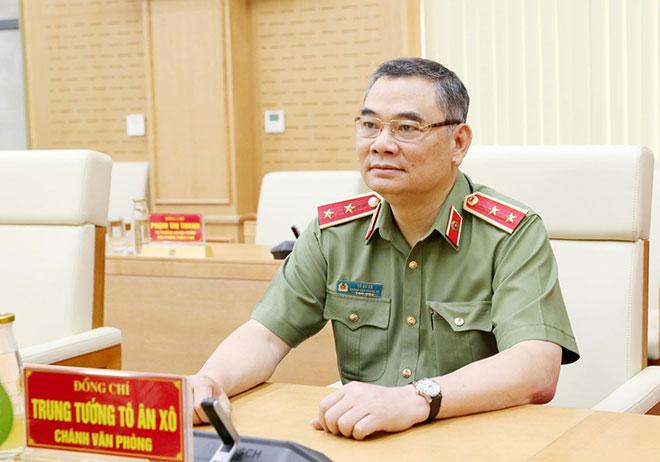 Trung tướng Tô Ân Xô: Bộ Công an đã điều động hơn 10.000 cán bộ, chiến sĩ vào phía Nam chống dịch - Tin tức