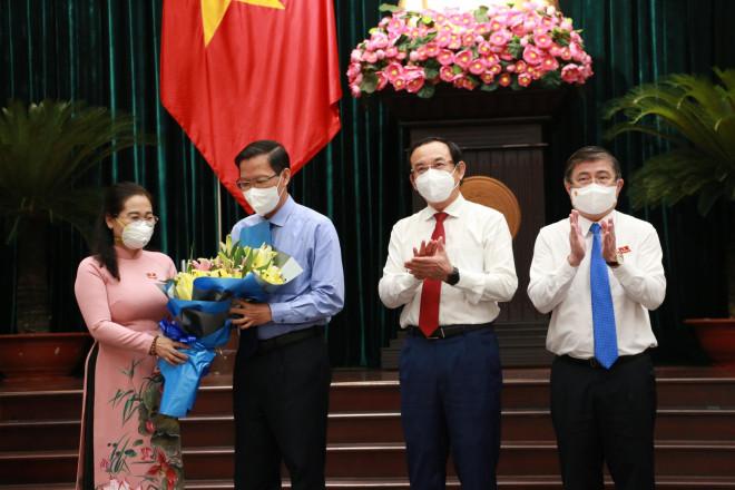 Tân Chủ tịch UBND TP HCM Phan Văn Mãi cam kết hàng loạt vấn đề - 1