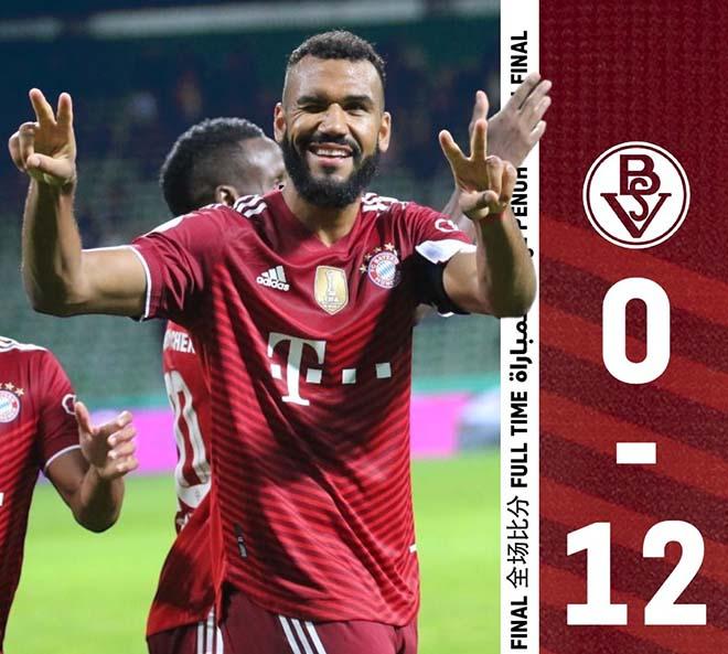 """""""Trận cầu điên"""" chấn động châu Âu: Bayern ghi 12 bàn, Monaco đón cú sốc Cúp C1 - 1"""