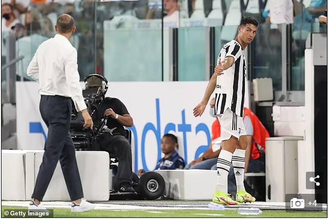 Ronaldo quyết chia tay Juventus: Bỏ trận đấu cuối tuần, chờ Man City báo tin vui - 1