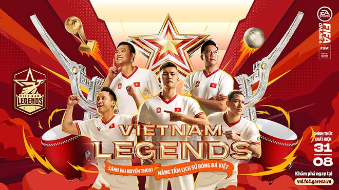 Các huyền thoại bóng đá Việt Nam bất ngờ xuất hiện trong FIFA Online 4 - 1