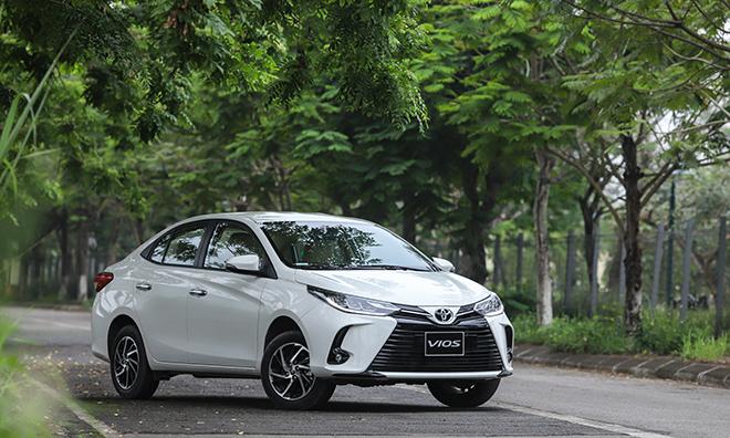 Giá xe Toyota Vios tháng 9/2021, hỗ trợ phí trước bạ lên đến 30 triệu đồng - 1