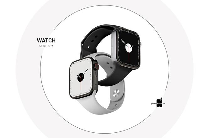 Khái niệm Apple Watch Series 7 xuất hiện, khiến iFan trầm trồ - 4