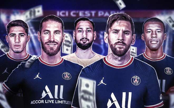 PSG đón Messi - Ramos hè 2021 có hay hơn Real 2009 đón Ronaldo, Benzema, Kaka - 1