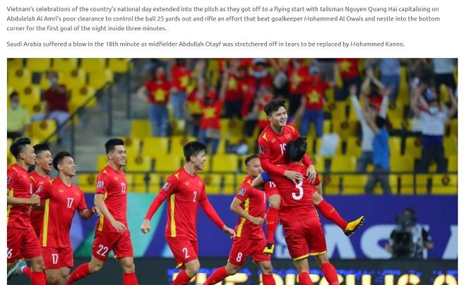3 tuyển thủ Việt Nam được AFC ca ngợi sau trận thua Saudi Arabia - 1