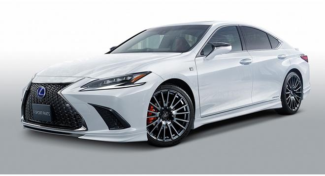 Lexus ES thế hệ mới ngầu hơn trong gói nâng cấp TRD - 1