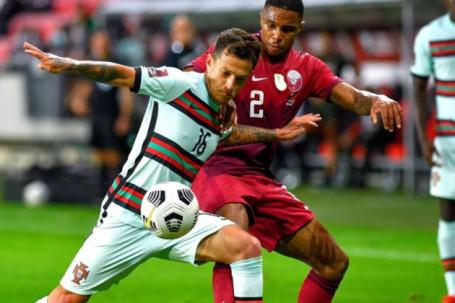 Video bóng đá Qatar - Bồ Đào Nha: Fernandes thay Ronaldo tỏa sáng, 2 thẻ đỏ ngỡ ngàng (Giao hữu)