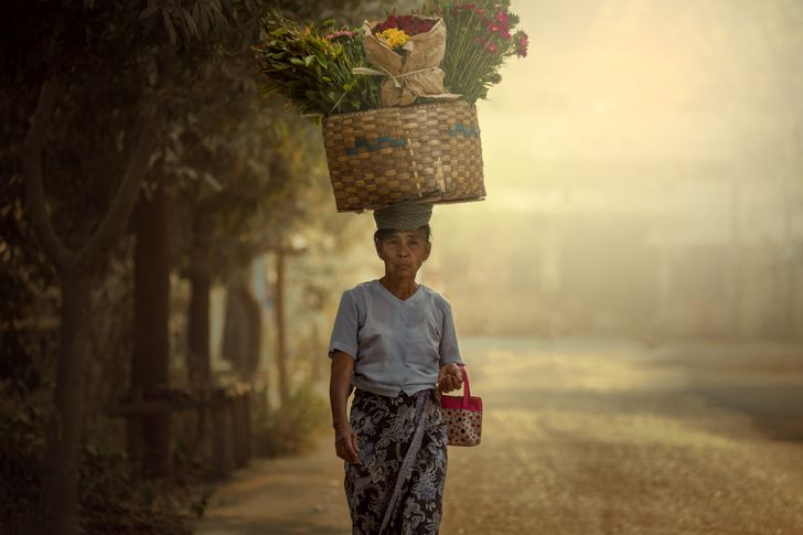 Mê đắm trước những bức ảnh nông thôn của 3 nước Thái Lan, Myanmar và Việt Nam - 1