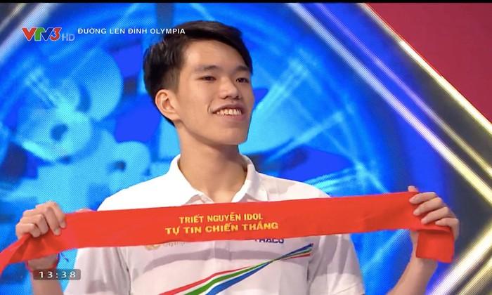 Nam sinh Quảng Bình giành vòng nguyệt quế cuộc thi tuần cuối cùng Olympia 21 - 1