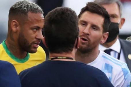 Trận Brazil - Argentina làm thế giới sửng sốt: FIFA ủng hộ đội Messi, dễ xử thắng