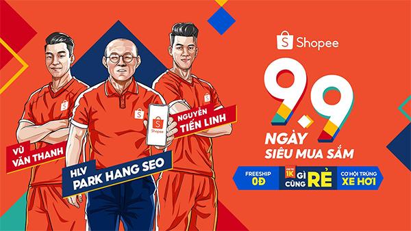 """""""9.9 Ngày siêu mua sắm"""" trên Shopee mở màn mùa mua sắm tưng bừng cuối năm - 1"""