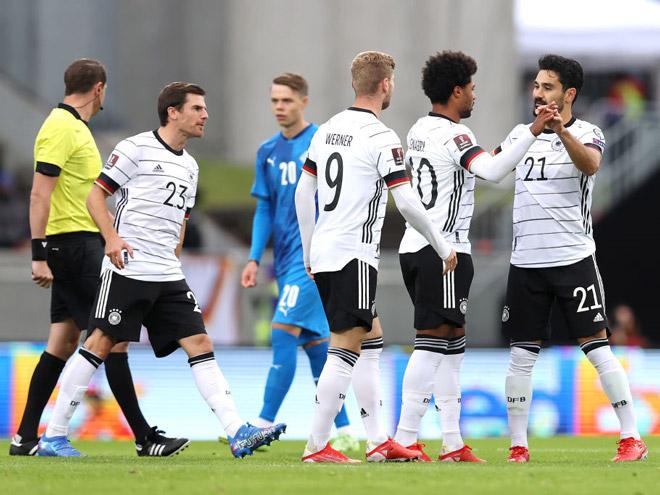Video bóng đá Iceland - Đức: Mở điểm cực sớm, mãn nhãn 4 bàn (Vòng loại World Cup) - 2
