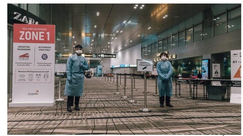 Singapore áp dụng các quy định nghiêm ngặt về xét nghiệm COVID-19 đối với du khách - 1