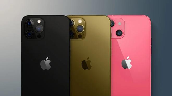 Hé lộ tuỳ chọn màu và bộ nhớ của dòng iPhone 13 - 3