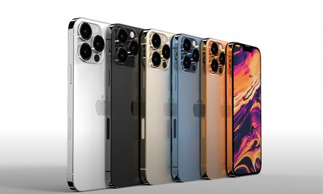 Hé lộ tuỳ chọn màu và bộ nhớ của dòng iPhone 13 - 4