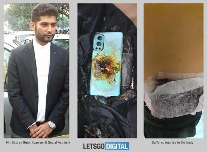 Thêm một điện thoại OnePlus Nord 2 5G bị phát nổ - 1
