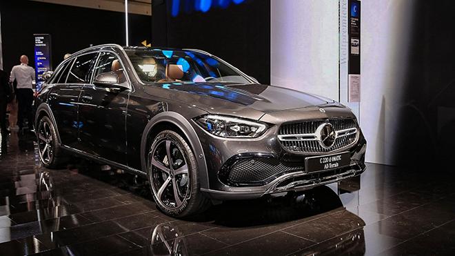 Mercedes-Benz C-Class all Terrain lần đầu tiên trình làng - 1