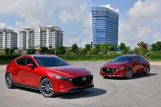 Giá xe Mazda3 tháng 9/2021, ưu đãi 50% phí trước bạ - 1