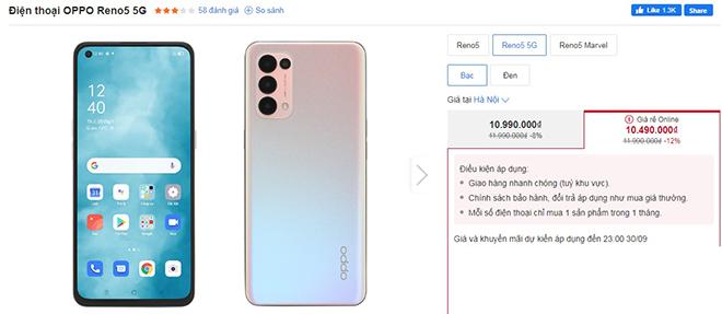 """Top 4 điện thoại 5G chơi game """"chất"""" đang giảm giá nhiều nhất - 1"""
