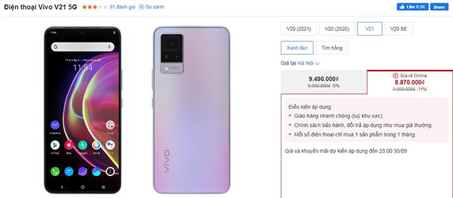 """Top 4 điện thoại 5G chơi game """"chất"""" đang giảm giá nhiều nhất - 4"""