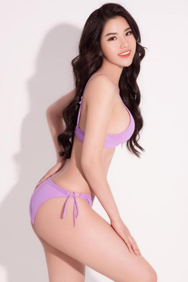 Người đẹp gốc Nam Định có chiều cao 1,74m cùng số đo 3 vòng: 90 - 63 - 95cm.