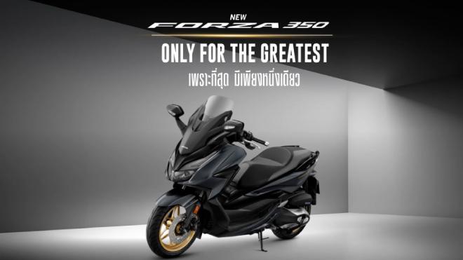 2022 Honda Forza 350 chính thức ra mắt, có trang bị tinh vi hơn - 1
