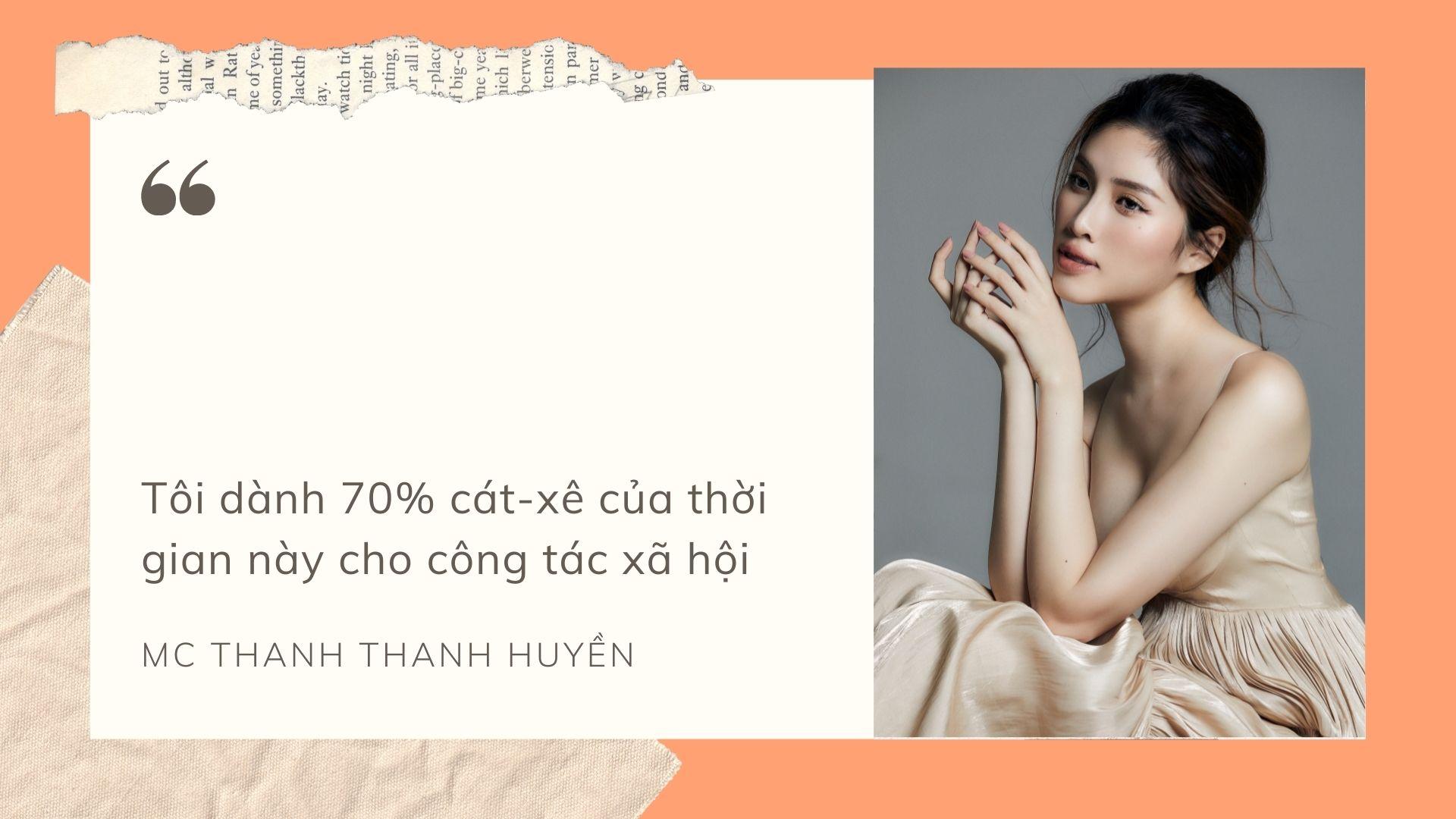 """MC Thanh Thanh Huyền: """"Có lẽ nghề MC đã chọn tôi"""" - 3"""
