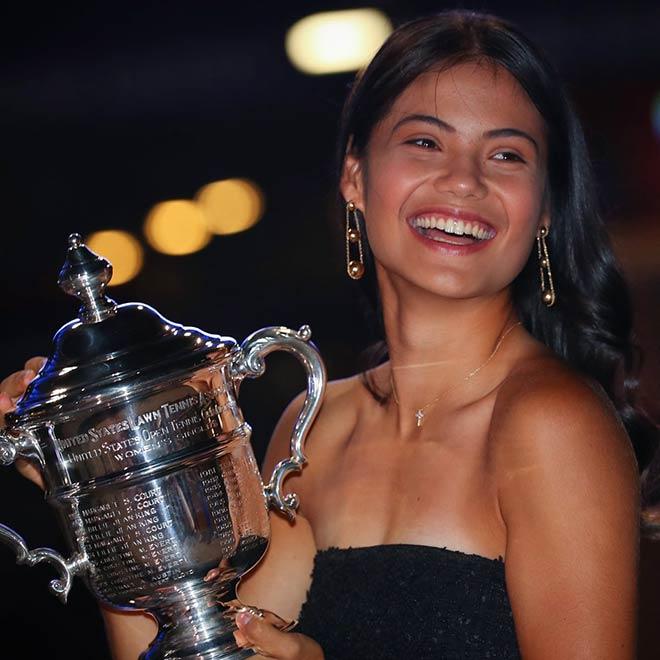 """Người đẹp Raducanu vô địch US Open trở thành """"nữ hoàng trang sức"""" - 1"""