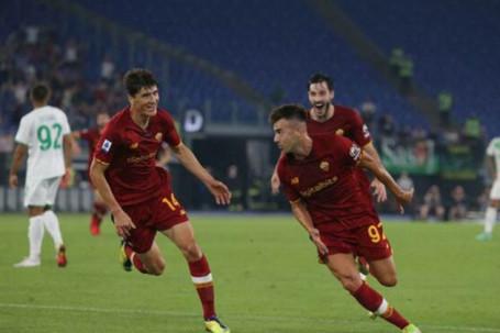 Kết quả bóng đá AS Roma - Sassuolo: Siêu kịch tính phút bù giờ, Mourinho chạm cột mốc